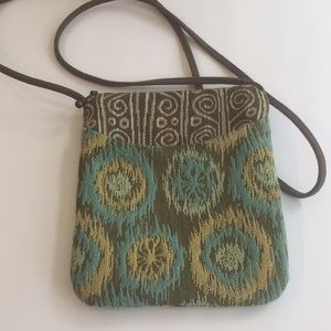Maruca Hand Made Embroidered Cross Body Purse Bag
